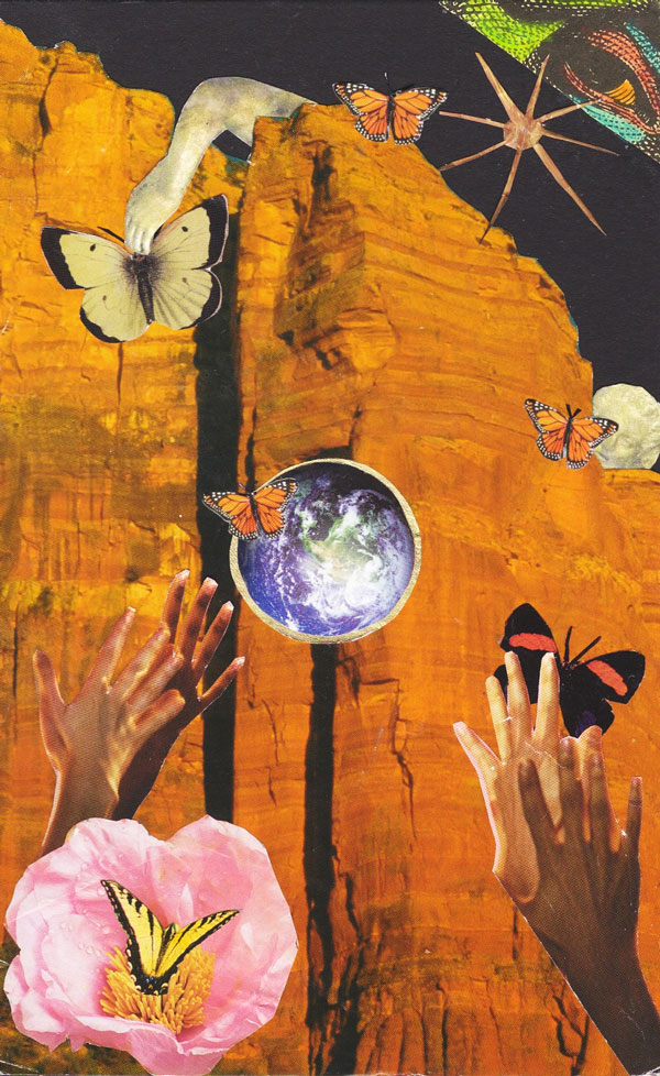 "Nancy Weiss ""Letting Go"" SoulCollage® Card"